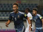 比赛集锦:阿根廷U20 5-0 几内亚U20