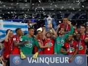 比赛集锦:巴黎圣日耳曼 1-0 昂热