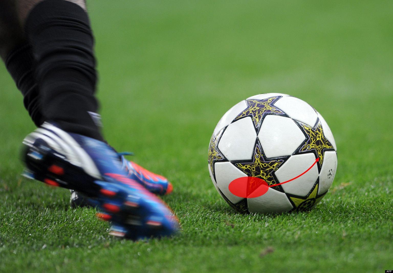 足球教学:弧线球技巧精析精讲 - 足球视频|足球