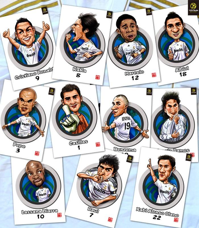 yjd漫画球星:漫画马德里皇家体育11人可以第二次才蹦极绑脚图片