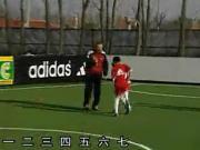经典的国产足球教学:如何提高比赛中的反应速度