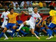 2006年世界杯巴法之战,齐祖盘活全队尽显大师风范!