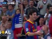 巴萨每日一球:今天当然是梅西!国家德比一条龙精彩进球