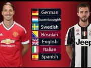 球踢得好,语言能力更是强!足坛那些精通多种外语的球星