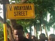 强,非洲街道用万亚马名字命名