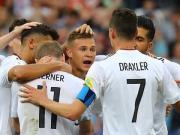 德国3-1喀麦隆小组第一出线将战墨西哥,维尔纳梅开二度