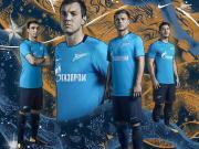 圣彼得堡泽尼特发布全新主场及第二客场球衣