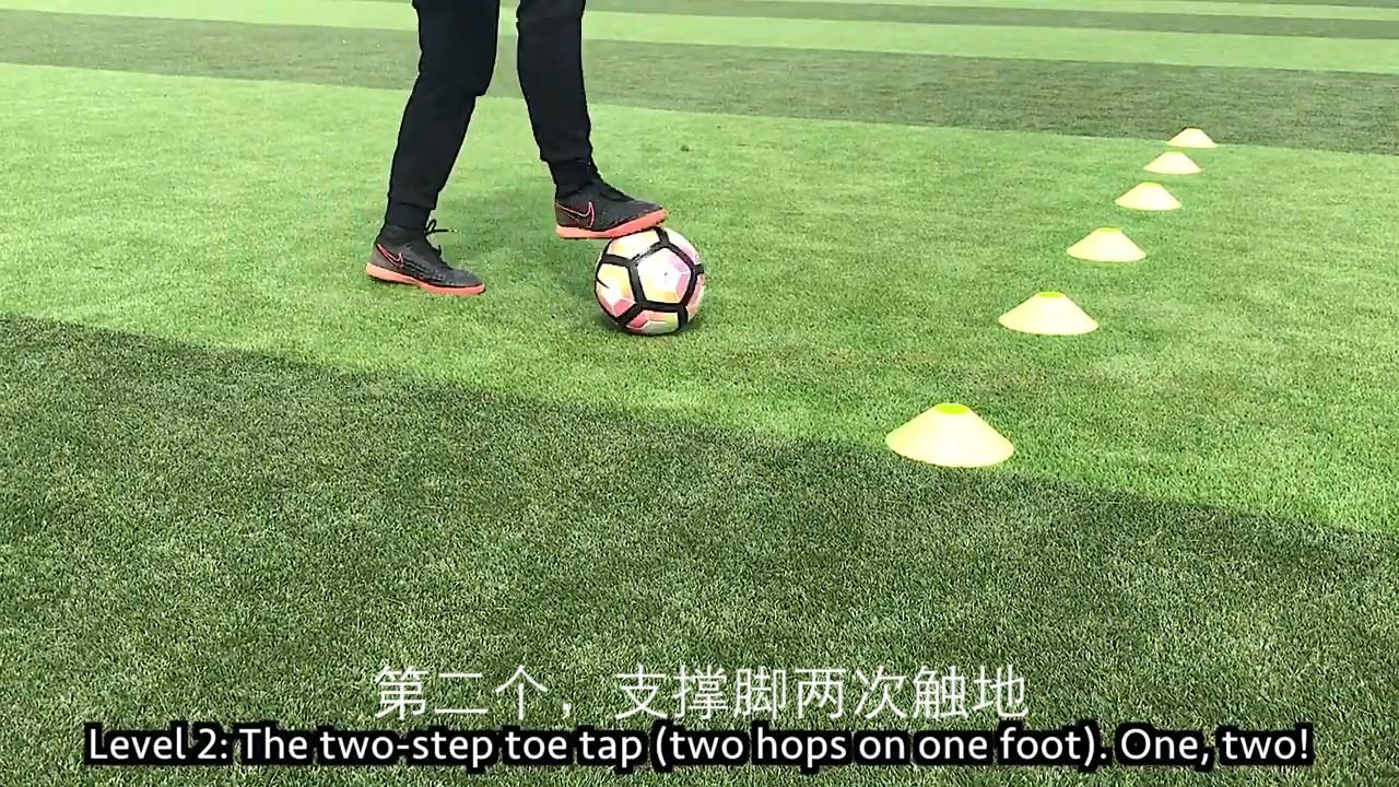 雙腳交替觸球,相信大家在各種的足球教學資料中都看到過這個動作圖片