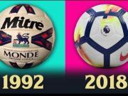 1992年至今英超联赛用球演变史,哪颗球给你留下了深刻印象?