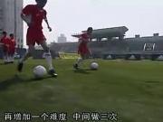 经典的国产足球教学:一对一技术训练