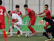 比赛集锦:塔吉克斯坦U23 2-2 巴勒斯坦U23