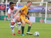 比赛集锦:澳大利亚U23 2-0 文莱U23