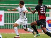 比赛集锦:东帝汶U23 0-0 韩国U23