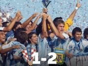 10年前的今天,阿根廷夺得U20世界杯冠军,阿坤荣膺最佳球员