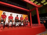 图集:听京剧,包饺子,阿森纳球员在京体验中国文化