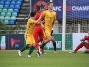 比赛集锦:新加坡U23 0-7 澳大利亚U23