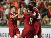 利物浦2-1逆转莱斯特城夺英超亚洲杯,库鸟传射,萨拉赫破门