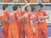 比赛集锦:山东鲁能泰山 3-2 长春亚泰