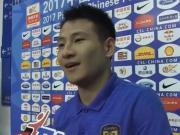 杨笑天:很幸运为球队带来胜利