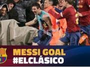 巴萨2008年国家德比最佳进球:梅西经典搓射破门