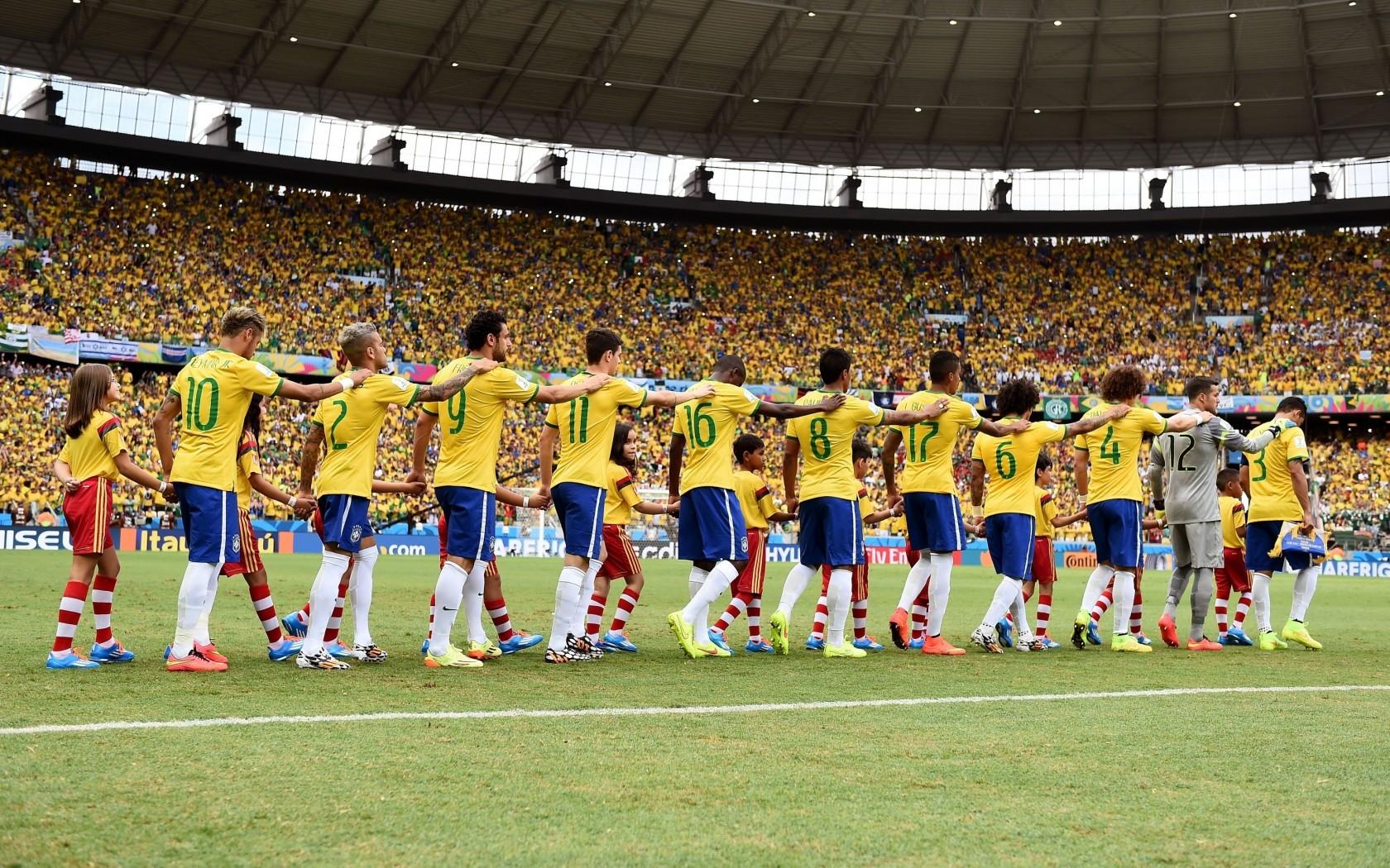 壁纸秀 巴西国家队图片