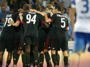 米兰客场1-0获欧战赛季开门红,六新援亮相,R罗任意球制胜