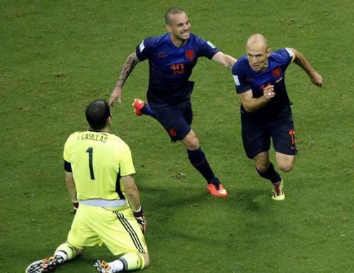 伊涅斯塔,罗本 ,鲁尼 ,斯内德南非世界杯四小天王联名点了