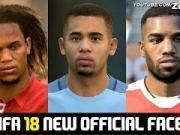 简直太逼真了!《FIFA18》球员脸型大揭秘,看完真的想剁手