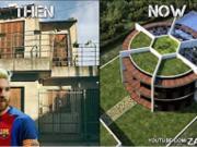 十大球星他们豪宅的过去与现在