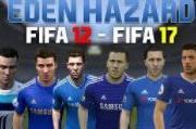 越来越像杨坤!回顾阿扎尔从FIFA 12到FIFA 17的变化