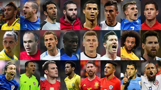2017世界足球先生候選名單出爐!