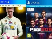 PES18 vs FIFA18进球集锦!你更中意哪一款