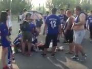 """""""输球又输人"""",宁夏球迷控诉包头球迷将其总经理打倒在地"""