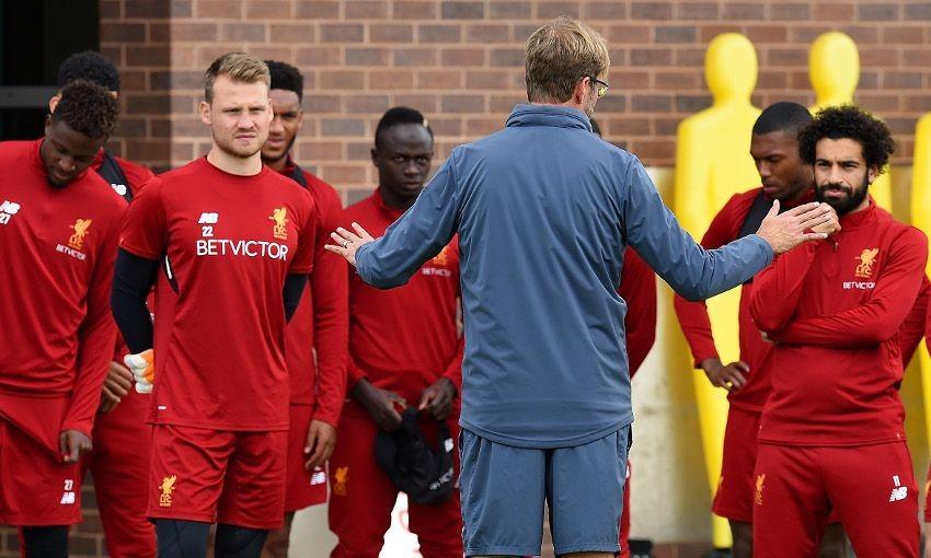 积极备战阿森纳,利物浦众将训练中笑容轻松
