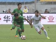 比赛集锦:北京中赫国安 1-3 天津权健
