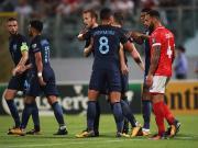 比赛集锦:马耳他 0-4 英格兰