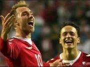 比赛集锦:丹麦 4-0 波兰