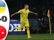 比赛集锦:乌克兰 2-0 土耳其