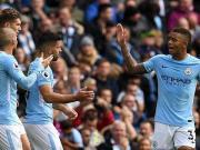 比赛集锦:曼城 5-0 利物浦