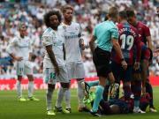 比赛集锦:皇家马德里 1-1 莱万特