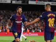 比赛集锦:巴塞罗那 5-0 西班牙人