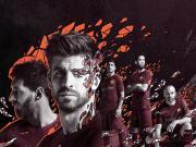 又见迷彩!巴塞罗那第二客场球衣发布!