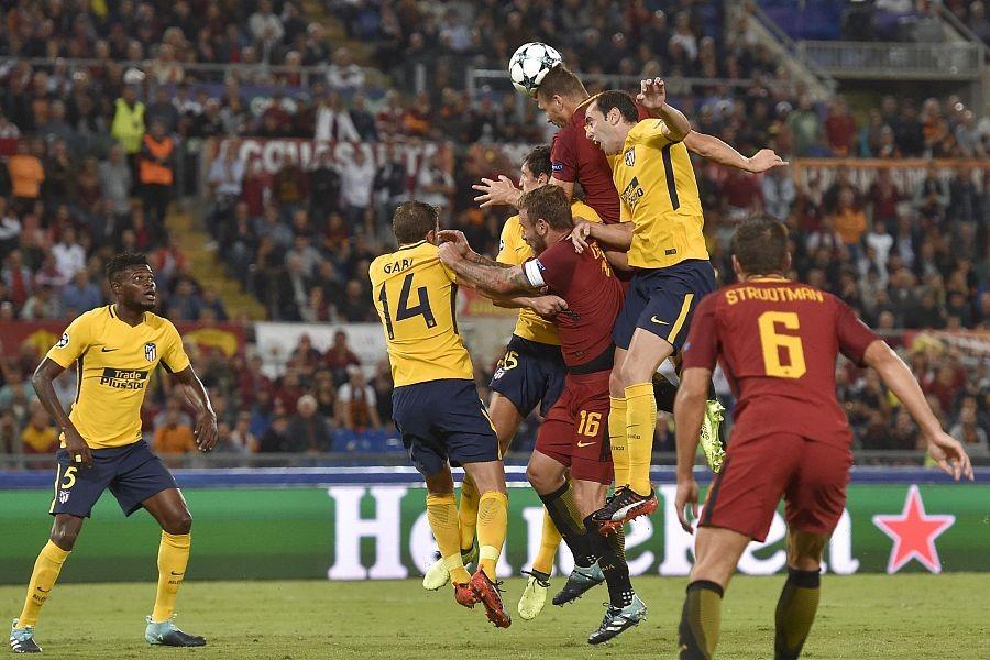 图集:马竞客场和罗马互交白卷,众球员抱头长叹失良机