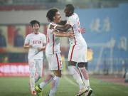比赛集锦:天津权健 2-1 重庆当代力帆