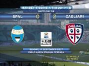 比赛集锦:斯帕尔 0-2 卡利亚里