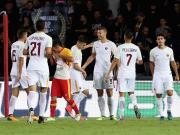 比赛集锦:贝内文托 0-4 罗马