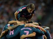 比赛集锦:毕尔巴鄂竞技 1-2 马德里竞技