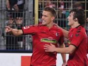 替补打进20球,弗莱堡前锋彼得森排名德甲第一
