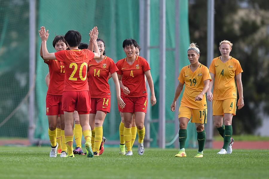 备战女足亚洲杯 澳大利亚约中国女足过招