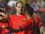 3年前的今天拉基蒂奇收获巴萨联赛首球,进球后第一个找梅西